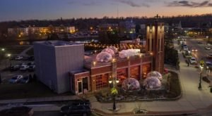 Stay Warm And Cozy This Season At Fenton Fire Hall's Rooftop Igloo Bar In Michigan
