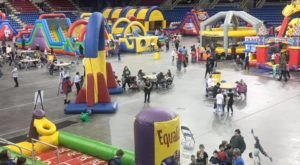 Over 25 Inflatables Will Be Set Up At Fight The Frost, A Massive Indoor Carnival In North Dakota