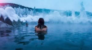 Chena Hot Springs Is One Of The Gorgeous Hot Springs In Alaska You Can Still Visit In The Wintertime