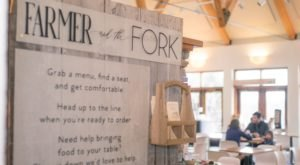 Hiding Inside A Beautiful Botanical Garden In Massachusetts Is Farmer And The Fork, An Incredible Made-To-Order Restaurant