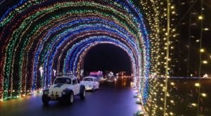 Drive Through 250 Holiday Light Displays At Winter Wonderland In Oregon