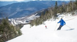 Ski Down The Greatest Vertical Of Any Lift-Serviced Mountain In The Northeast At New York's Whiteface Mountain