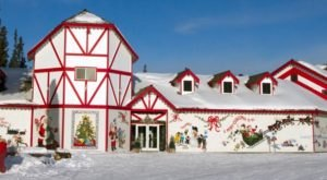 Get In The Spirit At The Biggest Christmas Store In Alaska: Santa Claus House
