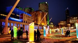 The Winter Lights Festival In New York That's Lighting Up Ithaca For The Holidays