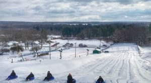 You Will Want To Get In On The Action At Mount Pleasant Of Edinboro, Pennsylvania's Newest Winter Tubing Hill
