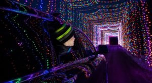 Drive Through Millions Of Lights At The Ingleside Hotel In Wisconsin This Holiday Season