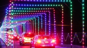 Drive Through Millions Of Lights At Las Vegas Motor Speedway In Nevada At This Holiday Display