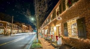 Stroll And Shop Among Twinkling Lights At Every Turn In Frederick, Maryland
