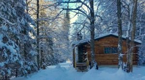 The Fairytale Log Cabin Hideway In New Hampshire, Rustic Log Cabins, Is A Dreamy Place To Spend The Night