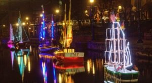 The Dazzling Boat Display In Frederick, Maryland Is A Winter Tradition You'll Want To See In Person