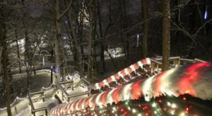 15 Miles Of Dazzling Christmas Lights Transforms Ohio's Carillon Historical Park During The Holidays