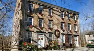 Stroll Back In Time At This Christmas Lantern Tour Of New Jersey's Allaire Village