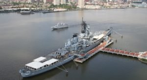 Stay Overnight On USS New Jersey, An Old WWII Battleship