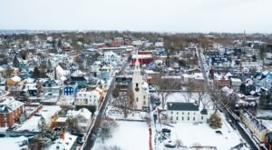 4 Enchanting Rhode Island Towns That Feel Like You've Fallen Into A Snow Globe