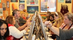 Sip A Glass Of Wine While You Create A Masterpiece At Pinot's Palette Paint And Sip In Kansas