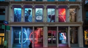 You Can Celebrate Everything Star Wars In A Galaxy Not-So-Far Away At A Pop-Up Exhibit In New York