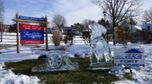 Admire More Than 50 Intricate Ice Sculptures At Ligonier Ice Fest Near Pittsburgh