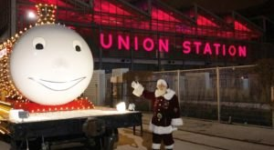 Tour Santa's Train When It Pulls Into Union Station In Kansas City, Missouri This Winter
