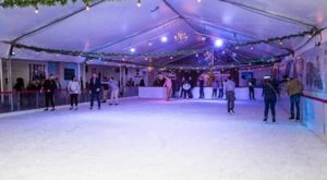 Enjoy Skating Through Piedmont Park In Georgia At Park Tavern's Fire & Ice Rink