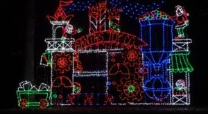 Even The Grinch Would Marvel At The Winter Wonderland Light Display At Tilles Park In Missouri