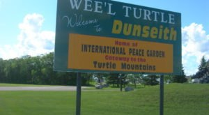 There's No Other Town In North Dakota Quite Like Dunseith, From Its Giant Turtles To The Peace Garden