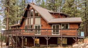 Have A Luxurious Night In A Cabin In The Treetops Of Incline Village In Nevada