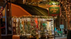 Get In The Spirit At The Christmas Shop, A Twinkling Holiday Store In Maryland