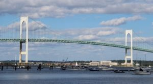 The Longest Swinging Bridge In Rhode Island Can Be Found In Newport And The Views Are Unbeatable