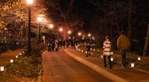 Try The Ultimate Nighttime Adventure With The Enchanted Luminaria Walk In Indiana