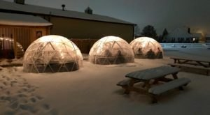 Hang Out In An Igloo At This One-Of-A-Kind Indiana Vineyard