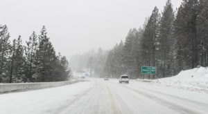 A Massive Snow Storm Has Arrived In Northern California And You'll Want To Be Prepared
