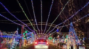 Drive Or Walk Through 1.2 Million Holiday Lights At We Care Park In Indiana