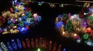 The Garden Christmas Light Displays At Orton Botanical Garden In Idaho Is Pure Holiday Magic