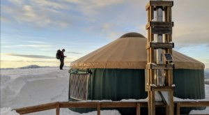 Plan A Magical Winter Getaway At The Stargaze Yurt In Idaho's Backcountry