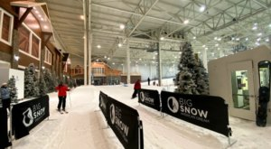 You Can Ski On Real Snow At Big Snow American Dream, The First Indoor Ski Resort In North America