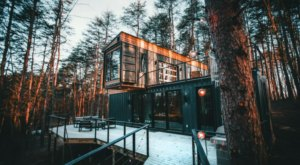 The Shipping Container Cabin In The Woods, The Box Hop, Is The Coziest Getaway From Cincinnati