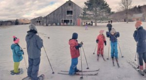 Go On A Scenic Snowshoe Or Ski Adventure At Blueberry Hill In Vermont