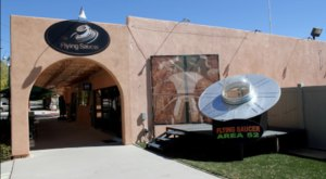Visit The Wacky Alien-Themed Shop In Nevada, The Flying Saucer, For All-Things-Extraterrestrial