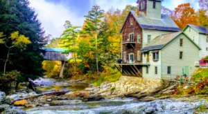 Spend The Night In America's Only Original Grist Mill And Covered Bridge Residence Right Here In Vermont
