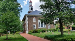 The Historic Christ Church In Alexandria, Virginia Is Older Than The Declaration Of Independence