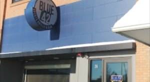 The Blue 42 Grille Has Delicious Burgers And Wings And It'll Be Your New Favorite Place To Watch The Game In North Dakota