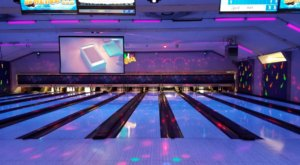 Experience A Night Of Fun With Glow Bowling At Stones Lanes In Cincinnati