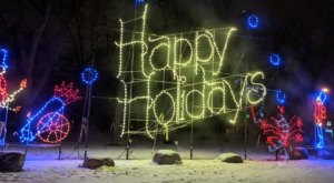Even The Grinch Would Marvel At The Holiday Lights At Lindenwood Park In North Dakota