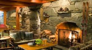 The Tracks At Pitcher Inn In Vermont Is A Firelit Tavern That You'll Want To Cozy Up In All Winter Long