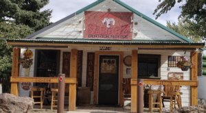 The Ghost Town Of Midas, Nevada Is Home To A Single Old Saloon That Is Well Worth A Visit