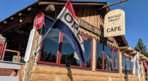 The Most Whimsical Restaurant In Wyoming, Buffalo Valley Cafe, Belongs On Your Bucket List
