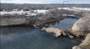 Bog Hot Springs Is One Of The Gorgeous Hot Springs In Nevada You Can Still Visit In The Wintertime