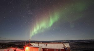 Stay Warm & Cozy In The Ski Land Lodge While You Hunt For The Aurora In Alaska
