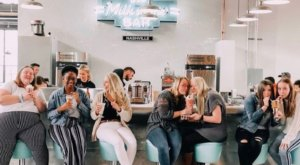 Indulge In The Extravagant Milkshakes At Gracie's Milkshake Bar, A Retro-Inspired Spot In Nashville