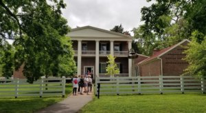 Get A Taste Of Historic Nashville Life By Visiting These Historic Homes All Around The City